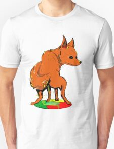 Firefox pee on Chrome Unisex T-Shirt