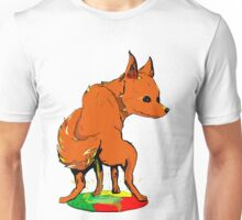 Firefox pee on Chrome Unisex T-Shirt