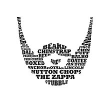 Beard Typography by Jesslaceyhogan
