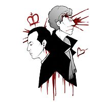 BBC Sherlock - The Reichenbach Fall Photographic Print