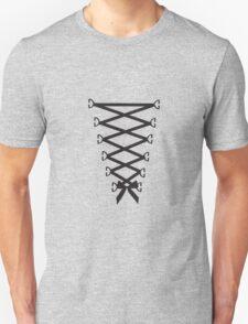 Corset Ribbon Unisex T-Shirt