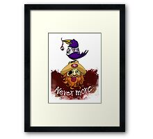 49ers Nevermore Framed Print