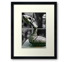 Incomplete Woman Framed Print