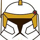 Chibi Commander Cody Helmet by humansrsuperior