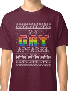 My Gay Apparel Holiday Sweater Classic T-Shirt