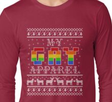 My Gay Apparel Holiday Sweater Long Sleeve T-Shirt