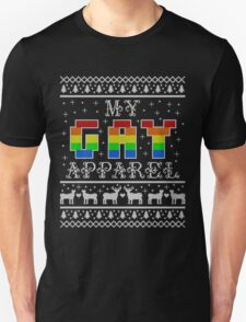 My Gay Apparel Holiday Sweater Unisex T-Shirt