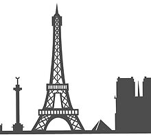 Paris Cityscape by sketch-uswnt