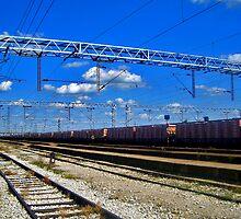 train line by studenna