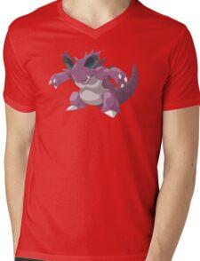 Nidoking Mens V-Neck T-Shirt