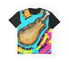 Colorful Drumstick Graphic T-Shirt
