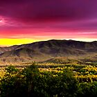 PURPLE SKYS SMOKY MOUNTAINS by Randy & Kay Branham