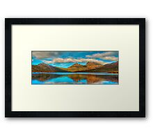 Cradle in Fagus - Cradle Mountain , Tasmania Australia - The HDR Experience Framed Print