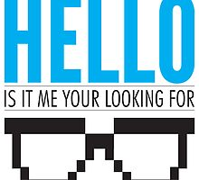 Hello Is It Me Your Looking For - Lionel Richie Geek Shirt by RetroReview