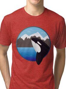 Framed Orca Tri-blend T-Shirt