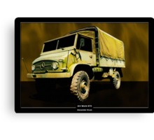 Art Work 073 Mercedes Unimog Canvas Print