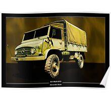 Art Work 073 Mercedes Unimog Poster
