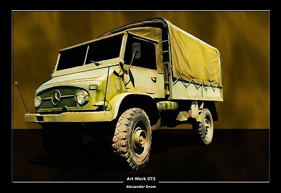 Art Work 073 Mercedes Unimog by Alexander Drum