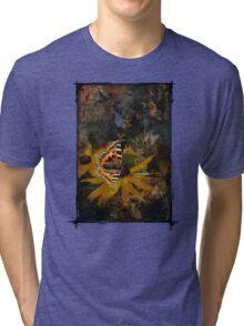 Fragile Butterfly Remix Tri-blend T-Shirt