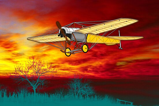 Blackburn Monoplane type D 1913 by Dennis Melling
