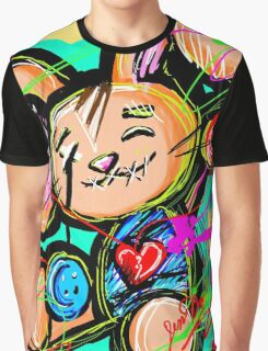 Adorable Voodoo Love Bunny  Graphic T-Shirt