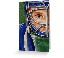 Cory Schneider Greeting Card