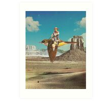 Happy trails Art Print