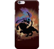 Super Smash Bros. Black Duck Hunt Silhouette iPhone Case/Skin