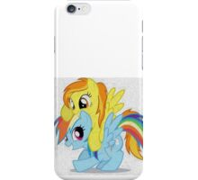 MLP Oil Paint Spitfire Rainbow Dash Filly iPhone Case/Skin