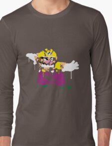 Wario Paint Long Sleeve T-Shirt
