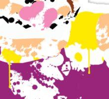 Wario Paint Sticker