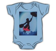 Mary Poppins In Flight One Piece - Short Sleeve