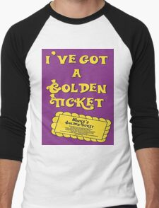 I've Got A Golden Ticket Men's Baseball ¾ T-Shirt