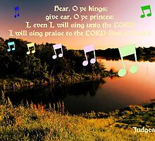 I Will Sing Praise to the Lord God of Israel! by aprilann