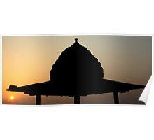 A Dome in Morning Poster