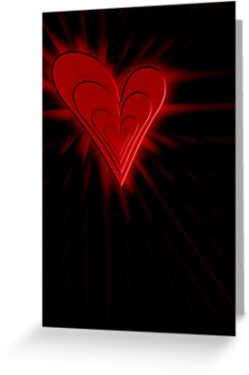 Heart Burst (iPhone/iPod) by ScaleDesigns