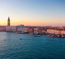 Venice Sunset by gleadston