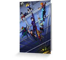 Save the Heroes Greeting Card