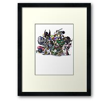 Final Fantasy Pokemon Collection Group Set 1 Framed Print