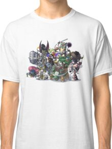 Final Fantasy Pokemon Collection Group Set 1 Classic T-Shirt