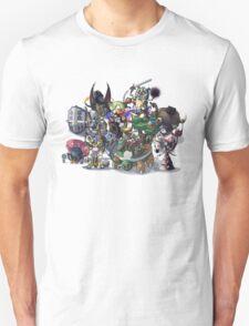Final Fantasy Pokemon Collection Group Set 1 T-Shirt