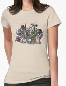 Final Fantasy Pokemon Collection Group Set 1 Womens Fitted T-Shirt