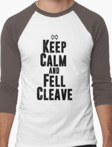 Keep Calm and Fell Cleave Men's Baseball ¾ T-Shirt