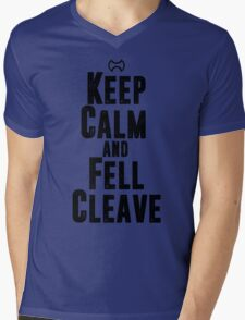 Keep Calm and Fell Cleave Mens V-Neck T-Shirt