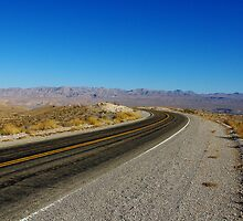 Northshore Road, Lake Mead, Nevada by Claudio Del Luongo