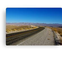 Northshore Road, Lake Mead, Nevada Canvas Print