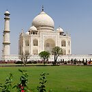 The Taj Mahal in Agra, India. by Alan Gillam
