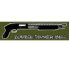 Guns sound like dinner bells to zombies Photographic Print