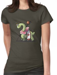 Final Fantasy - Meganium White Mage Womens Fitted T-Shirt