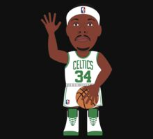 NBAToon of Paul PIerce, player of Boston Celtics by D4RK0